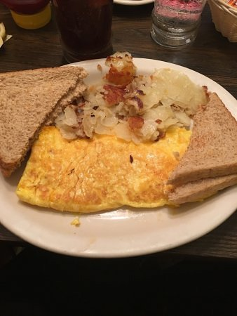 Rosie's: Cheddar Cheese Omlet-Rosies-Sarah Knight Adamson