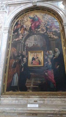 Siena, Włochy: Pintura dentro de otra pintura.