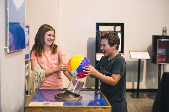Fleet Science Center : Bernoulli Effect