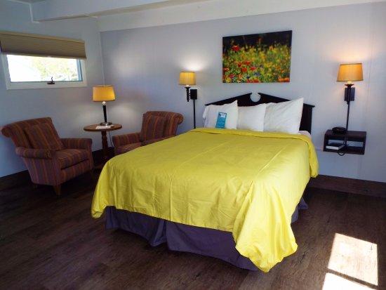 Baileys Harbor, WI: Room 113 has a Queen bed.