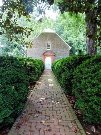 Charles City, VA: Front Entrance to church