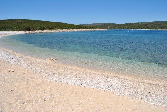 Dugi Island, Croazia: stuk zandstrand