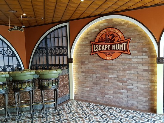 Salmiyah, Kuwait: The Escape Hunt Experience Kuwait