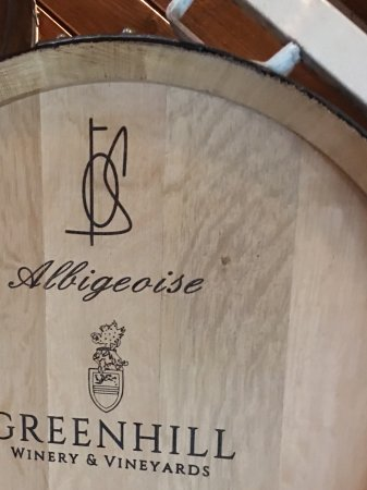 Middleburg, VA: The get all their barrels from France - and only from approved forests
