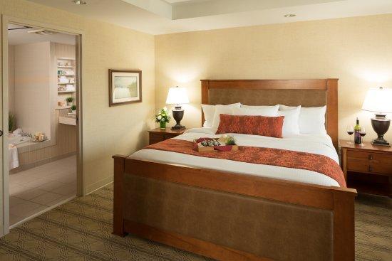 Blacksburg, Wirginia: Executive Suite Bedroom