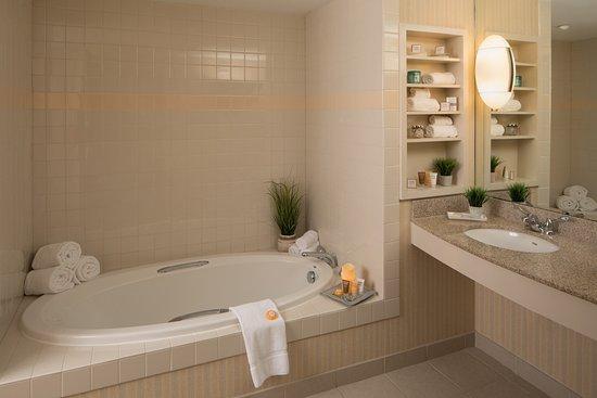 Blacksburg, Wirginia: Executive Suite Bathroom