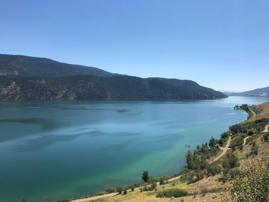 เวอร์นอน, แคนาดา: Kekuli Bay from hill