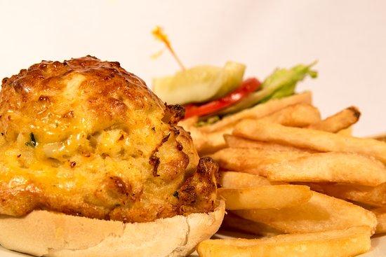 Crabcake Sandwich Picture Of Timbuktu Restaurant Hanover