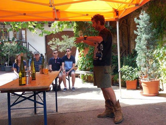 Mittelbergheim, فرنسا: Wines and Seltz