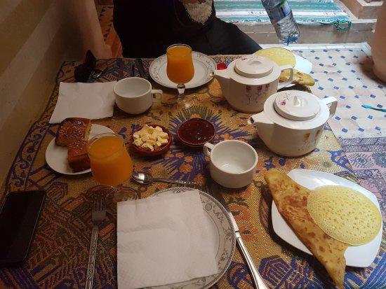 Riad Venezia: Frühstück