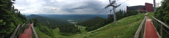 Red Clover Inn: Our hike up to the top of Killington Peak
