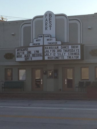 Mansfield, TX: View of the theater from across the street.