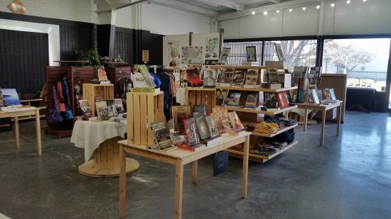 Price, UT: The interior of the Eastern Utah Tourism & History Association