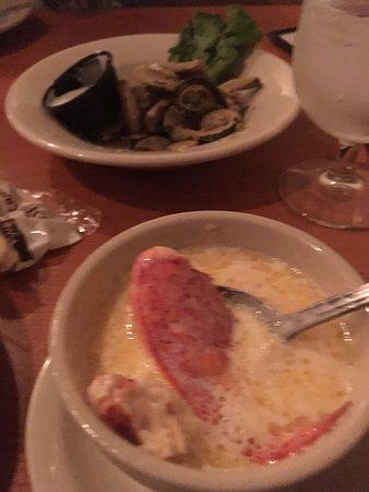 Bath, ME: Lobster stew