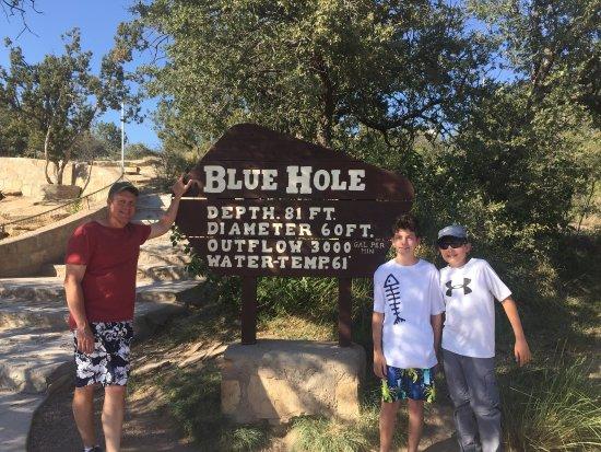 Blue Hole: Cold!!