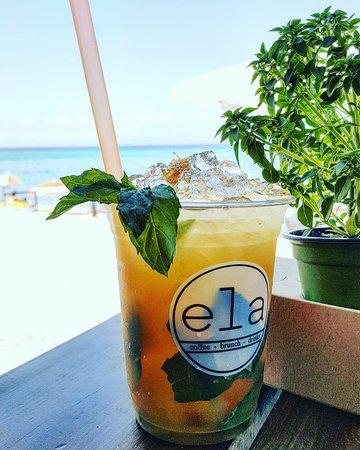 Ela Coffee Brunch Drinks