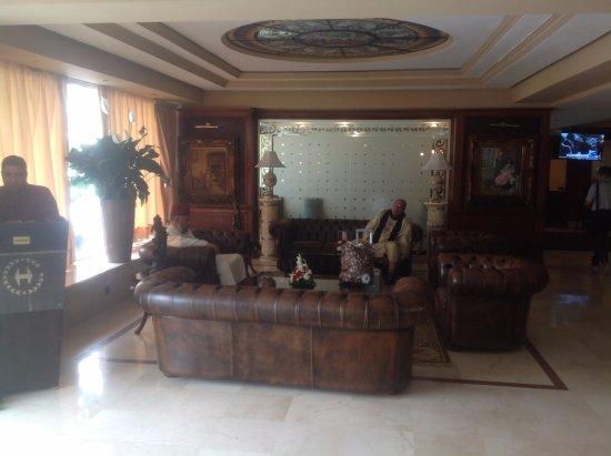 Helnan Chellah Morocco : Foyer area
