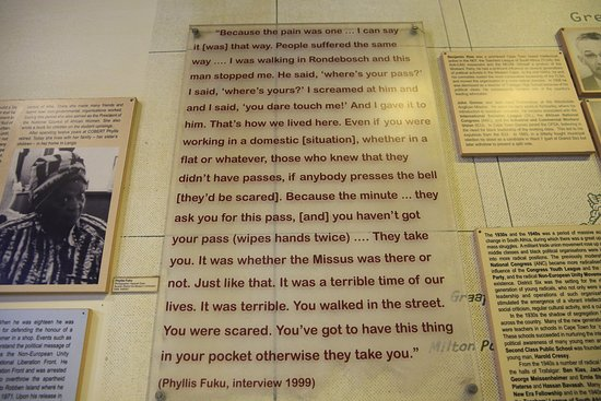 Cape Town Central, South Africa: DISTRICT SIX MUSEUM STORY BOARD