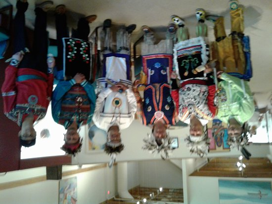 Howes Cave, Estado de Nueva York: Iroquois Indian Museum