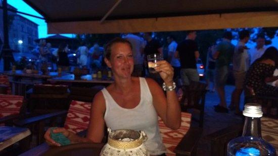 Cafe Bistro 'Mara': One of the friendly staff