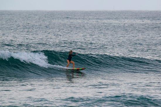 Puerto Sandino, Nicaragua: Kaydi en Pipe