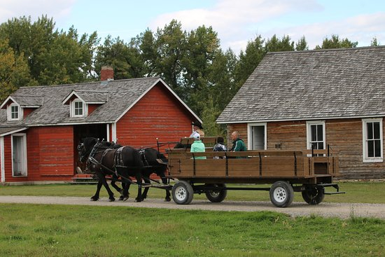 Bar U Ranch National Historic Site: A nice way to explore.