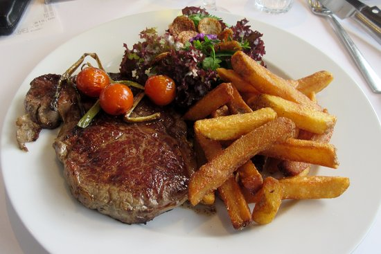Henne, Dinamarca: Ribeye steak