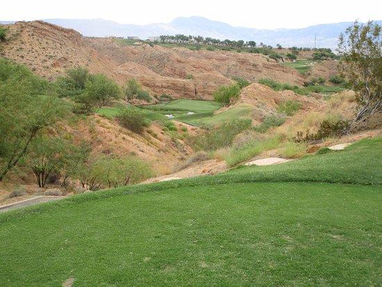 Wolf Creek Golf Club: Tough 8th.