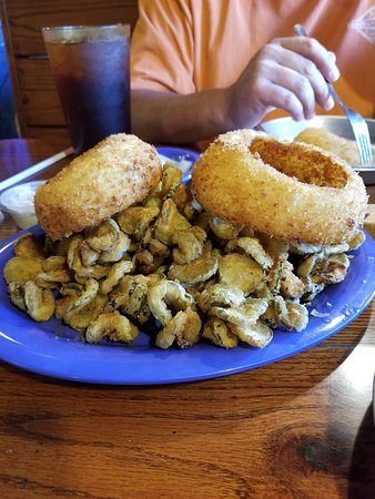 Michie, TN: More food than we could eat