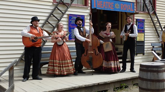 Barkerville, Canadá: The show at Theatre Royal was a good laugh