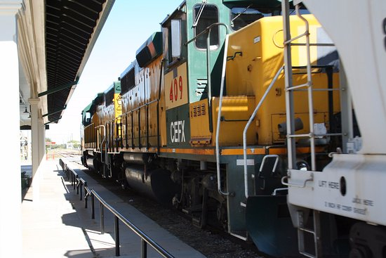 San Angelo, TX: Texas Pacifico Train Traffic At the Museum