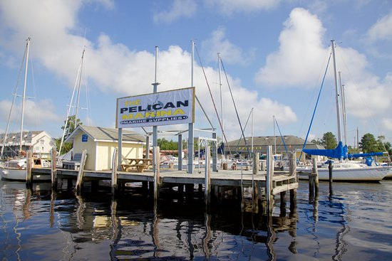 The Pelican Marina on the Pasquotank River in Elizabeth City