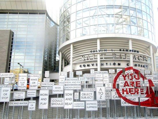 Salt Lake City Convention Center Signs