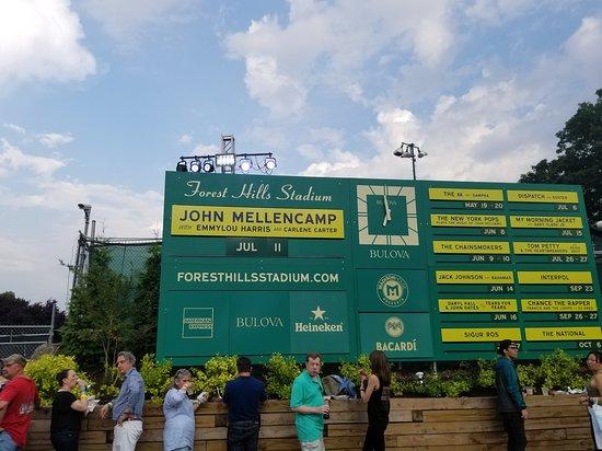Forest Hills Stadium Restaurants