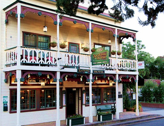 The National Hotel & Restaurant, Main St., Jamestown CA