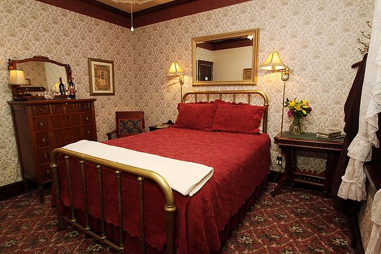 Jamestown, CA: Antique filled rooms in our wonderfully restored authentic California Gold Rush era hotel!