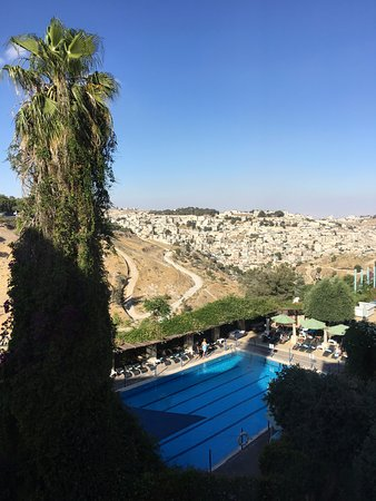 Mount Zion Hotel: Amazing view from our room!
