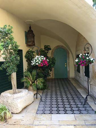 Mount Zion Hotel: One of the adorable alcoves on the property