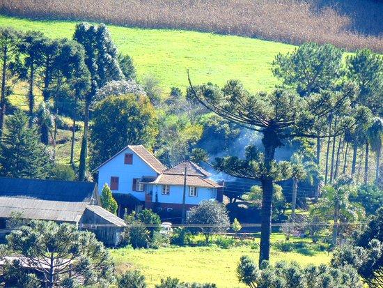 Treze Tílias, SC: Propriedade rural e Restaurante Italiano