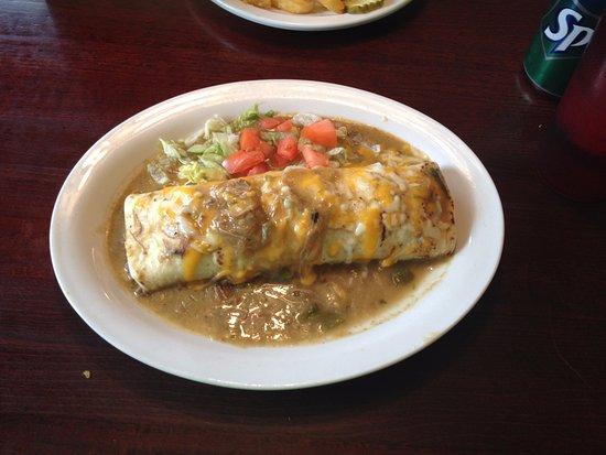 Las Vegas, NM: Beef Burrito