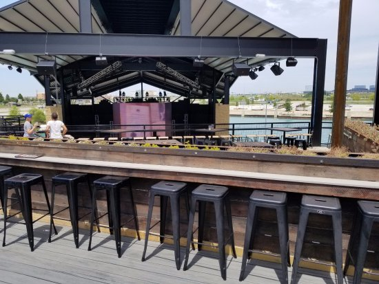 Outdoor Seating And Stage Picture Of Lava Cantina The
