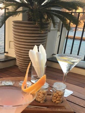J.K.Place Capri: Fabulous cocktails and nibbles