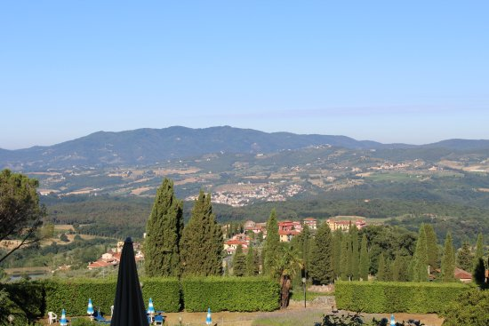 Villa Pitiana : view from our room