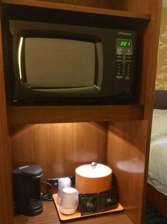 DuBois, Pensylwania: Microwave/coffee area