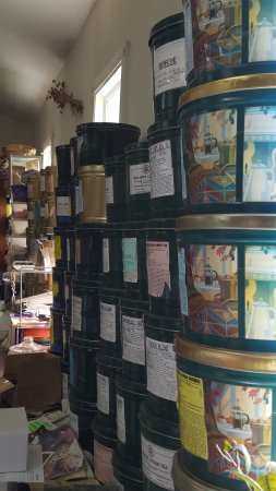 Waterbury, VT: Incredible teas stored in metal tins to preserve their freshness.