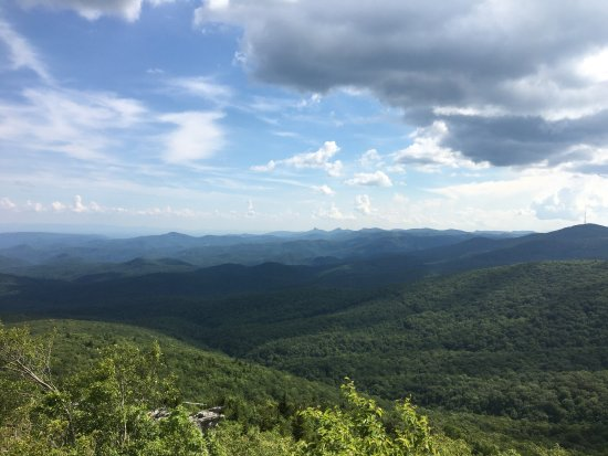 Linville, NC: Rough Ridge Lookout