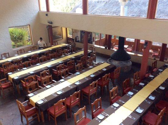 Colca Canyon, Peru: Salón comedor