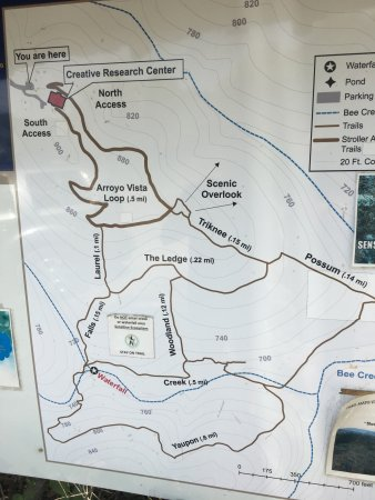Wild Basin Trail Map - Picture of Wild Basin Preserve, Austin ... on