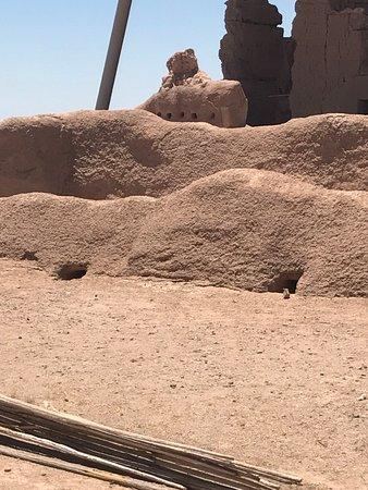 Coolidge, Аризона: Walls that still remain