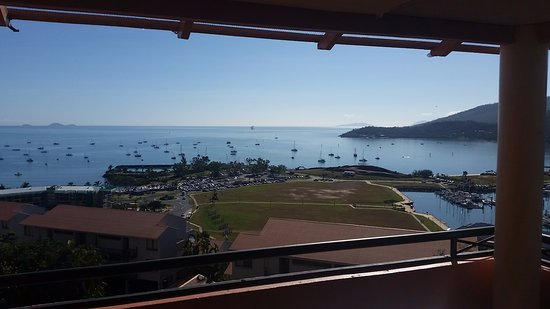 Martinique Whitsunday Resort : View from apartment balcony